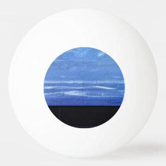 Landscape design pong ball. ping pong ball