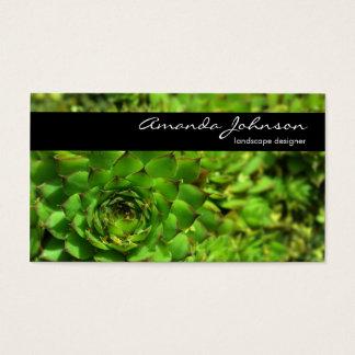 Landscape Designer Business Card