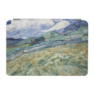 Landscape from Saint-Remy by Vincent Van Gogh iPad Mini Cover