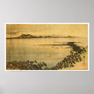 Landscape Hiroshige Japanese Fine Art Poster