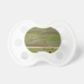 Landscape in the Sibillini Mountains in Italy Pacifier