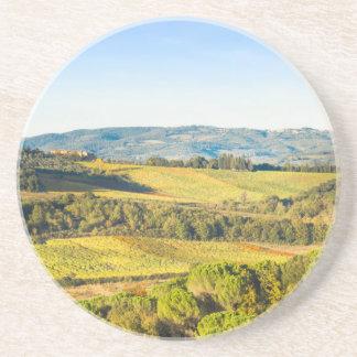 Landscape in Tuscany, Italy Coaster