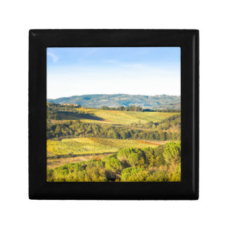 Landscape in Tuscany, Italy Gift Box