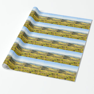 Landscape in Tuscany, Italy Wrapping Paper