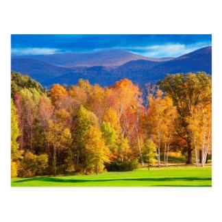 Landscape in Vermont Postcard