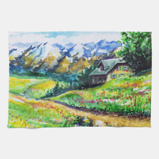 Landscape Kitchen Towel