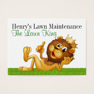 Landscape - Lawn Maintenance Business Card - SRF