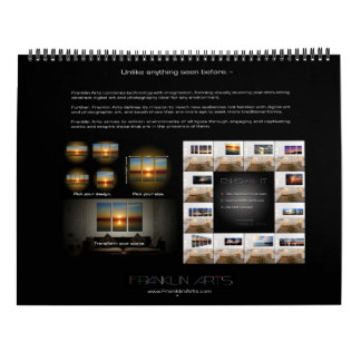 Landscape & Nature Photography by Franklin Arts Wall Calendar