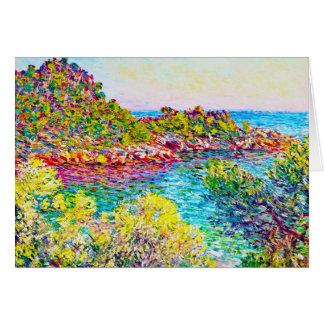 Landscape near Montecarlo, 1883 Claude Monet Card