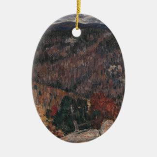 Landscape No. 25 Ceramic Ornament