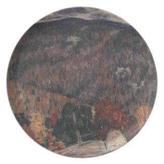 Landscape No. 25 Plate