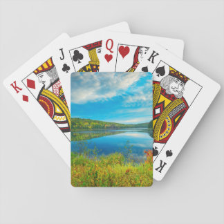 Landscape of Costello Lake Poker Deck