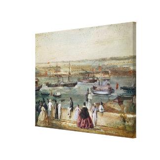 Landscape of Cuba Canvas Print