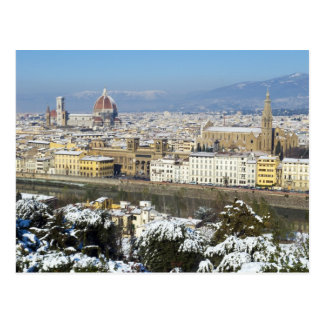 Landscape of Florence from Piazzale Postcard