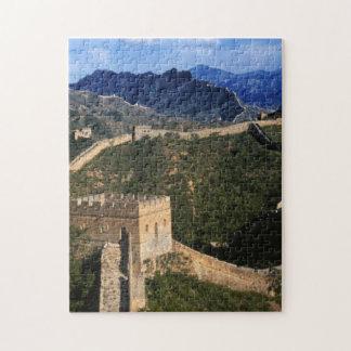 Landscape of Great Wall, Jinshanling, China Puzzle