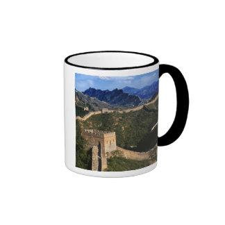 Landscape of Great Wall, Jinshanling, China Ringer Mug
