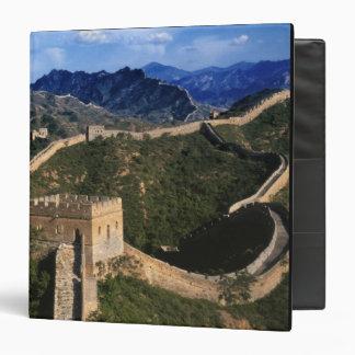 Landscape of Great Wall, Jinshanling, China Vinyl Binder