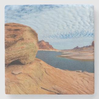 Landscape of Lake Powell Stone Coaster