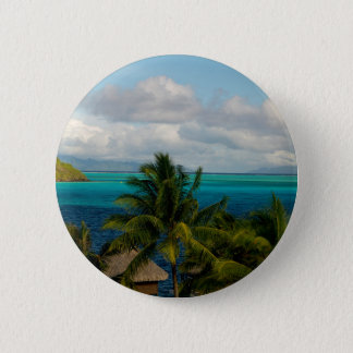 Landscape off will bora will bora 2 inch round button