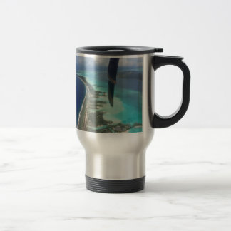 Landscape off will bora will bora travel mug