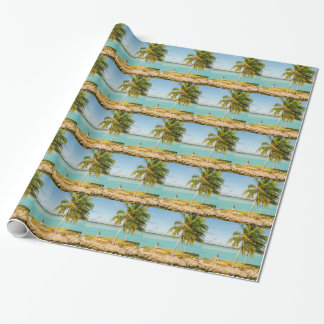Landscape off will bora will bora wrapping paper