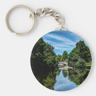 Landscape photo keychain