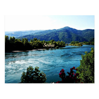 Landscape photograph of Serbia Postcard