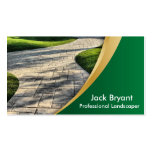 Landscape Professionals Pack Of Standard Business Cards
