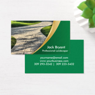 Landscape Professionals Business Card