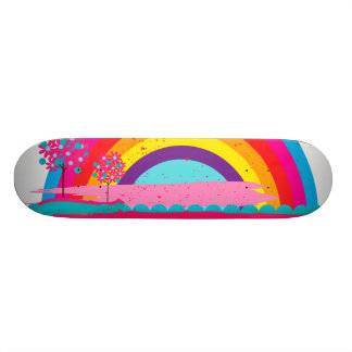 Landscape Rainbow Skate Boards