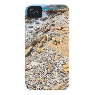 Landscape rocky coast Kefalonia Greece iPhone 4 Case