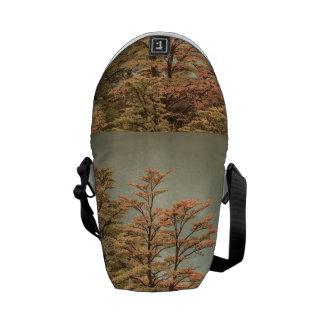 Landscape Scene Colored Trees at Glacier Lake Commuter Bag