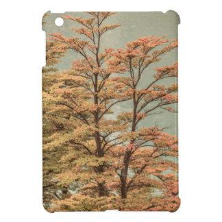 Landscape Scene Colored Trees at Glacier Lake iPad Mini Case