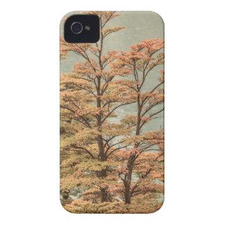 Landscape Scene Colored Trees at Glacier Lake iPhone 4 Case-Mate Case