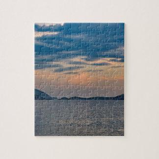 Landscape Scene from Ipanema Beach Rio de Janeiro Jigsaw Puzzle