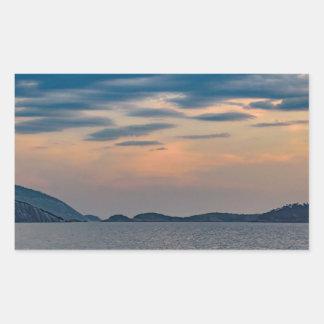 Landscape Scene from Ipanema Beach Rio de Janeiro Sticker
