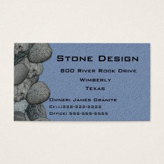 Landscape/Stone Mason Business Business Card