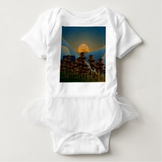 Landscape sunset baby bodysuit