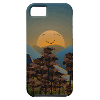 Landscape sunset case for the iPhone 5