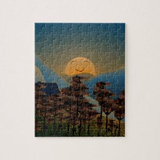 Landscape sunset jigsaw puzzle