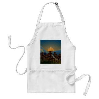 Landscape sunset standard apron