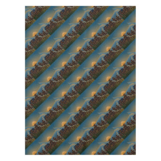 Landscape sunset tablecloth