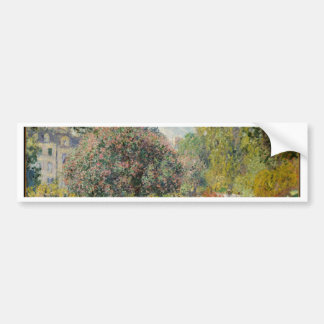 Landscape- The Parc Monceau - Claude Monet Bumper Sticker