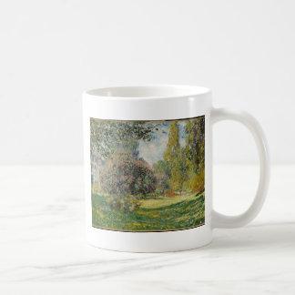 Landscape- The Parc Monceau - Claude Monet Coffee Mug