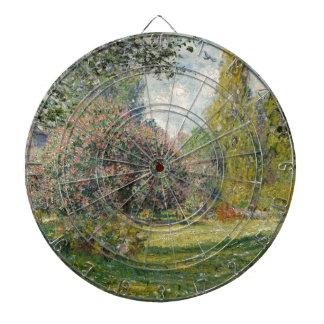 Landscape- The Parc Monceau - Claude Monet Dartboard