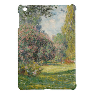 Landscape- The Parc Monceau - Claude Monet iPad Mini Covers
