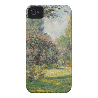 Landscape- The Parc Monceau - Claude Monet iPhone 4 Case-Mate Case