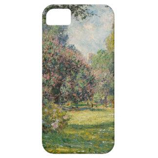 Landscape- The Parc Monceau - Claude Monet iPhone 5 Cases