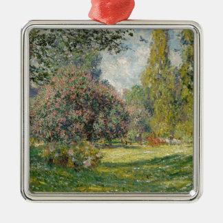 Landscape- The Parc Monceau - Claude Monet Metal Ornament