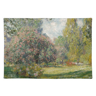 Landscape- The Parc Monceau - Claude Monet Placemat